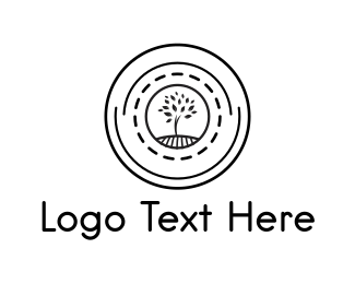 Climate - Tree Circle logo design