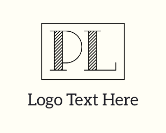 Popular - P & L logo design