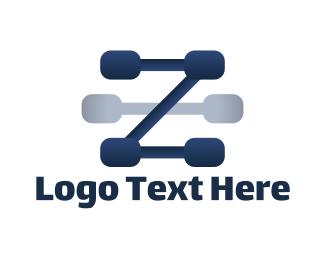 """""""Blue Letter Z"""" by BrandSeeder"""