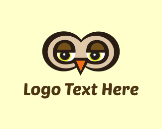 Search - Eyes Owl logo design
