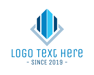Company - Blue Building logo design