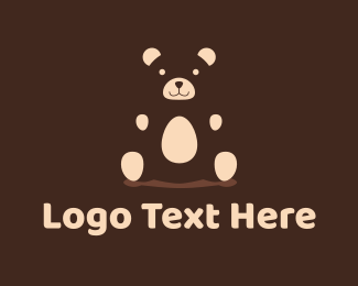 Bear - Teddy Bear logo design
