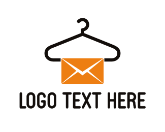 Message - Laundry Mail logo design