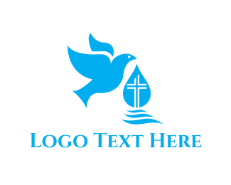 God - Holy Spirit logo design