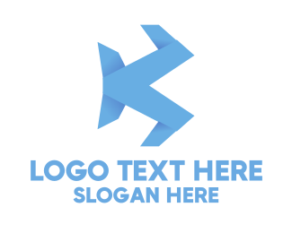 Animal - Origami Animal logo design