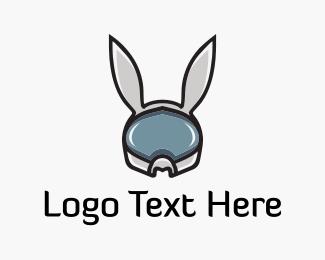 Future - Space Rabbit logo design