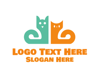 Doggy - Dog & Cat logo design