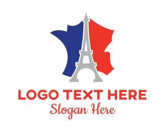 """""""Eiffel France"""" by LogoBrainstorm"""