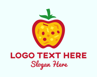 Pizza - Apple Pizza  logo design