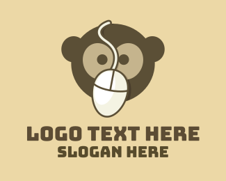 Code - Monkey Mouse logo design