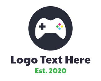 Console - Circle Controller logo design