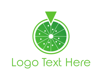 Citric - Lemon Wheel logo design