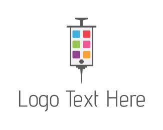Physician - Phone Medicine logo design