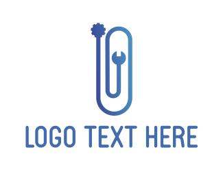 Fix - Clip Gear logo design