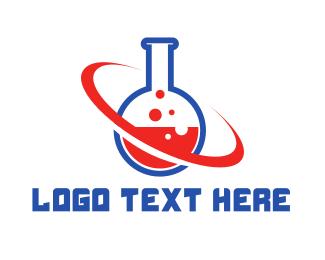 Teacher - Chemical Planet logo design