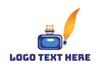 Printer - Royal Inkwell logo design