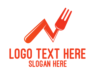 Food - Food Statistics logo design