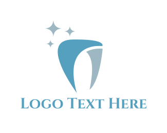 Dental - Shiny Tooth logo design
