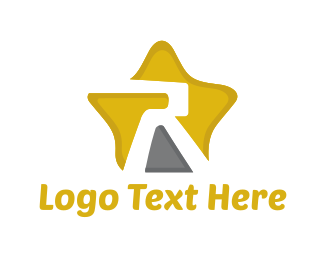 Business Software - Letter R Star logo design