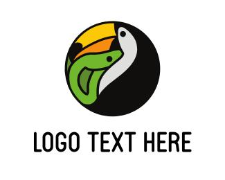 Zoo - Tucan Jungle Tours logo design