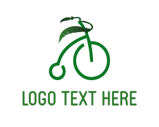 Cycling - Organic Bicycle logo design