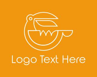 Beak - Toucan Letter G logo design