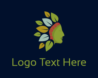 Parent - Native Leaves logo design