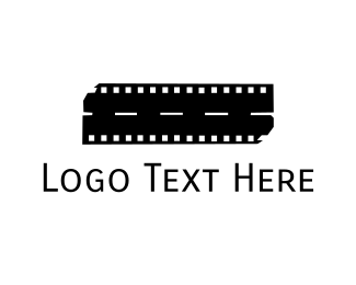 Broadway - Road Film logo design