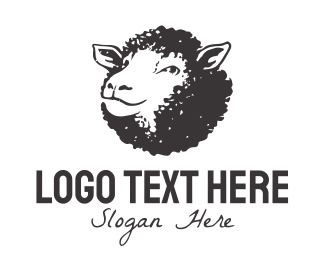 Farm - Black Sheep logo design