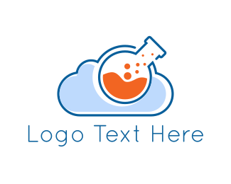 Lab - Lab Cloud logo design