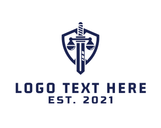 Law Firm - Justice Shield  logo design