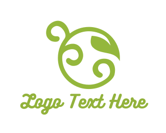 Twig - Curly Sprout logo design