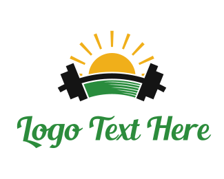 Gym - Morning Gym logo design