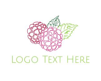 Flower Shop - Hydrangea Flower logo design
