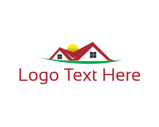 Handyman - Red Roof logo design
