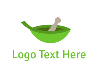 Bowl - Eco Pharmacy logo design