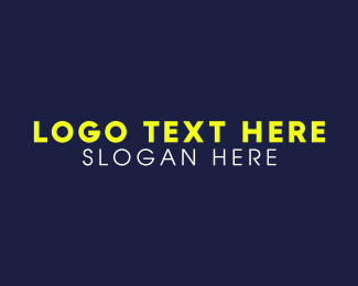 Legible - Yellow & Modern  logo design