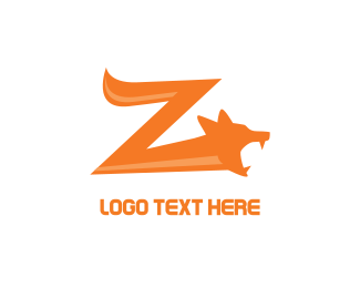 Wolf - Fox Z logo design
