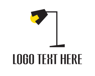 Illumination - Black Lamp logo design