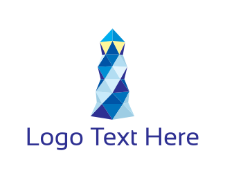Lighthouse - Crystal Lighthouse  logo design