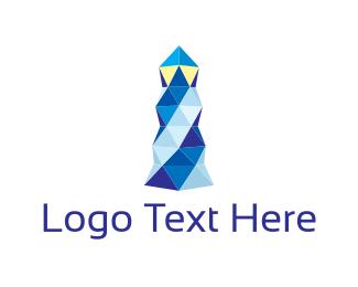 Crystal Lighthouse  Logo
