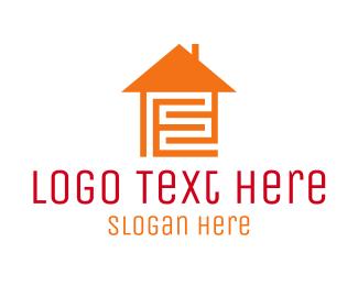 Maze - Home Maze logo design
