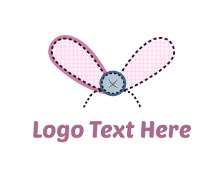 Fabric - Fly Button logo design