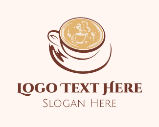 Exotic - Coffee Cappuccino logo design