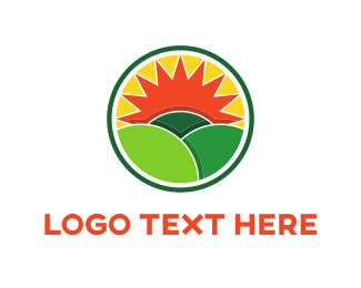 Commodity - Green Fields logo design