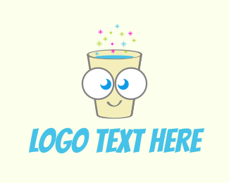 Cocktail - Happy Fizzy Drink logo design