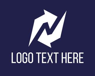 Lung - Refresh Arrow logo design