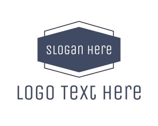 Badge - Blue Modern Badge logo design