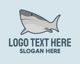 Pool - Wild Shark logo design