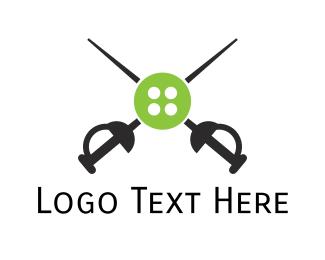 Esports - Button Sword logo design